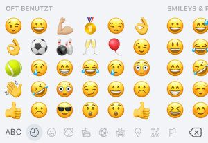 Emojis als TOP Thema